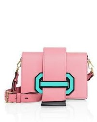 Prada City Two Tone Leather Crossbody Bag