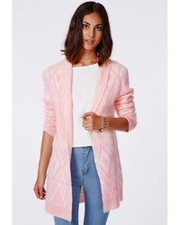 60d88bf0adb Arizona Aztec Print Open Front Cardigan Plus Out of stock · Missguided  Catrina Aztec Brushed Oversized Cardigan Pink