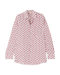 Marni Printed Silk De Chine Shirt