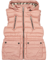 Burberry Maggie Puffer Gilet 4 14 Years