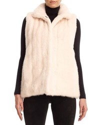 GORSKI Reversible Mink Fur Down Vest