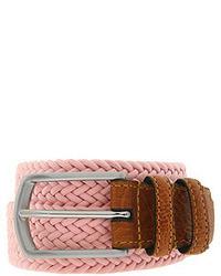 Pink Gingham Belt