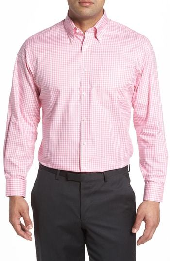 Nordstrom Men's Shop Classic Fit Non Iron Gingham Dress Shirt