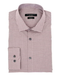 John Varvatos Star USA Slim Fit Plaid Dress Shirt