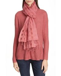 Eileen Fisher Organic Cotton Silk Scarf