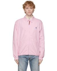 Polo Ralph Lauren Pink Cotton Bayport Jacket