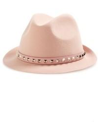 Valentino fur felt hat pink medium 5256109