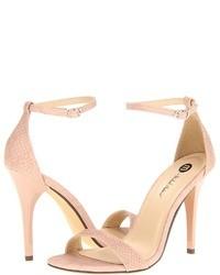 Pink heeled sandals original 1639887