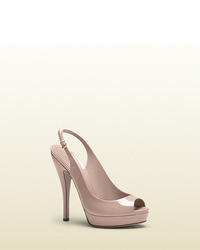 2c0a3b06 Women's Pink Sandals by Gucci | Women's Fashion | Lookastic.com