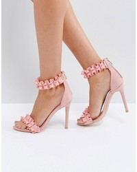 d1fa7499d1e Women's Pink Heeled Sandals by Missguided | Women's Fashion ...