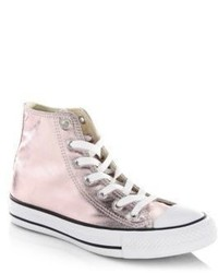 Converse Seasonal Metallic High Top Sneakers