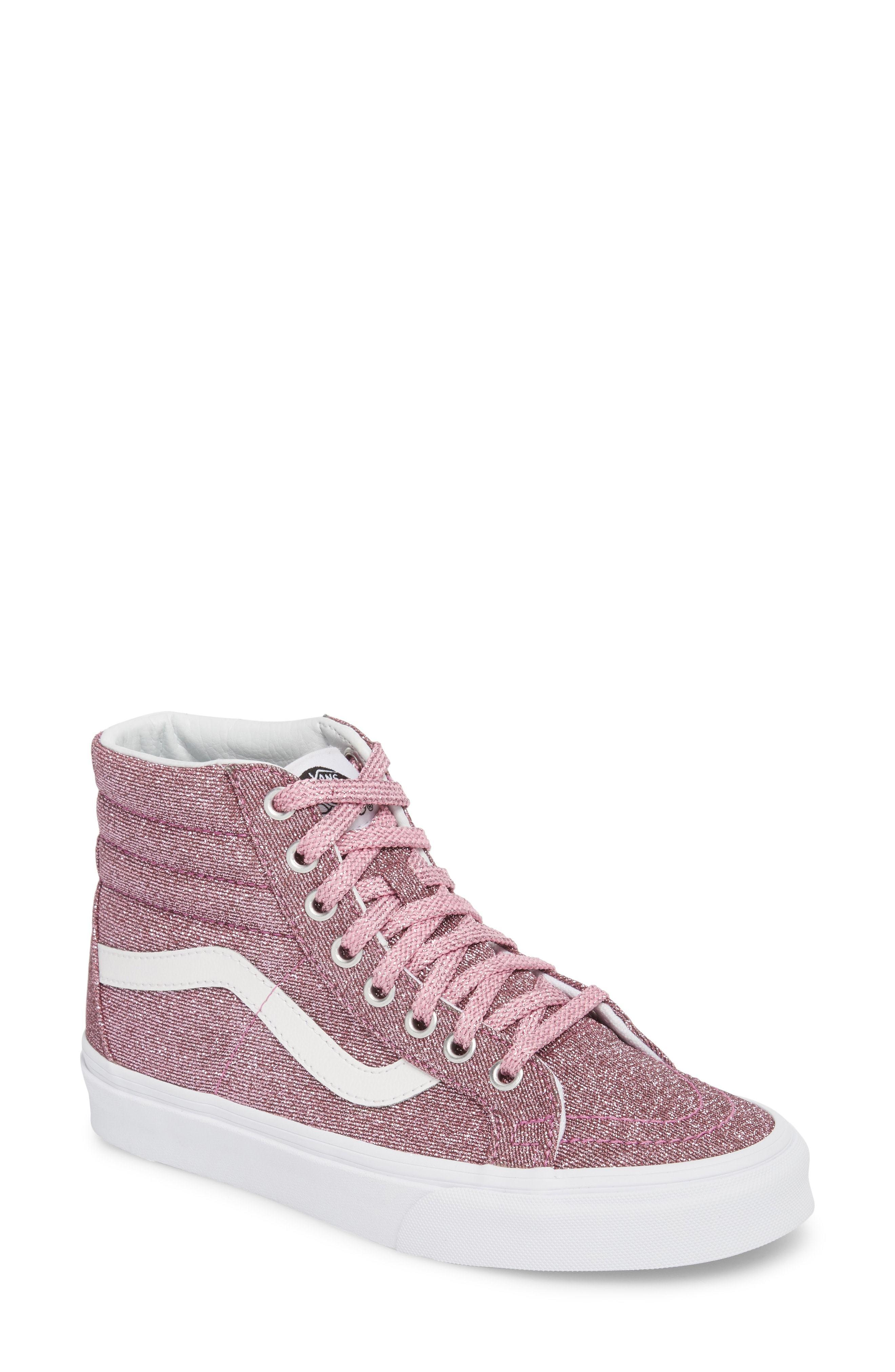 5c9575d2f13 ... Vans Ua Sk8 Hi Reissue Glitter Sneaker