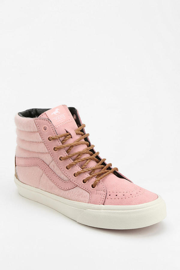 Female celebrity high top sneakers