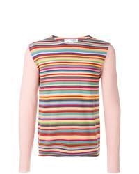 Comme Des Garçons Shirt Boys Striped Jumper
