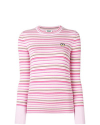 Kenzo Tiger Crest Striped Sweater