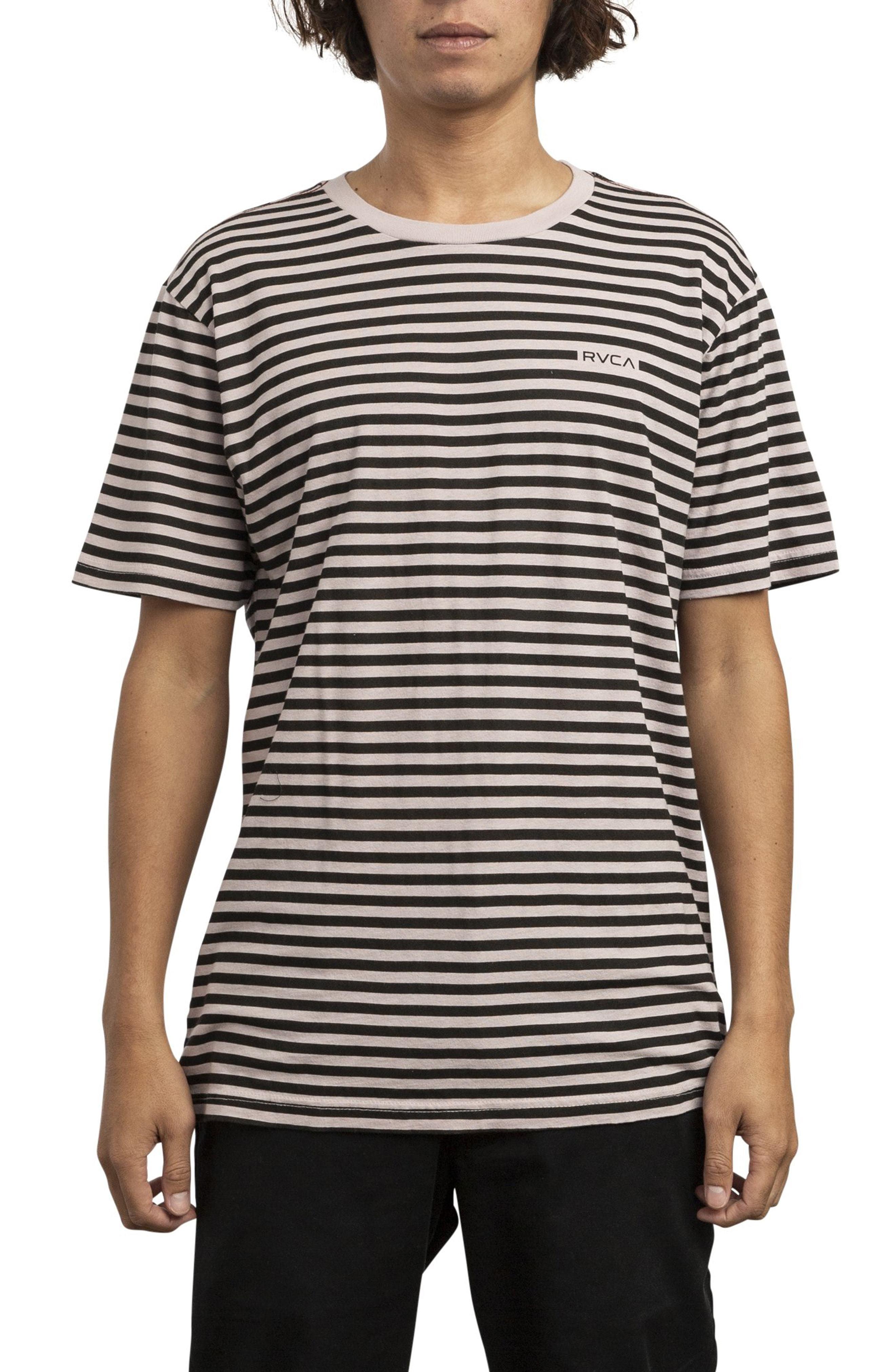 94dd510db RVCA House Stripe T Shirt, $32 | Nordstrom | Lookastic.com