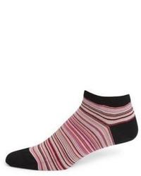 Paul Smith Multi Stripe Ankle Socks