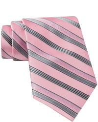 Claiborne Satin Striped Silk Tie