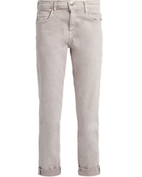 Current/Elliott The Fling Straight Leg Cropped Jeans