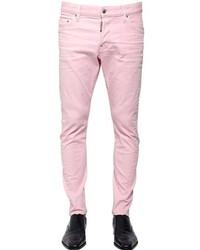 DSQUARED2 16cm Sexy Twist Stretch Denim Jeans