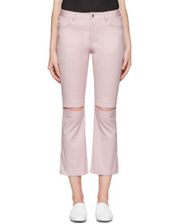 Nomia Pink Slit Knee Jeans