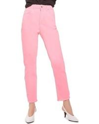 Raw hem straight leg jeans medium 4094805