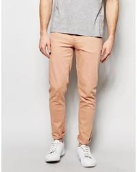 Asos Skinny Jeans In Pink