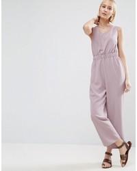 Minimal jumpsuit with waist detail medium 3734904