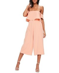 Popover off the shoulder jumpsuit medium 4412876