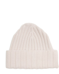 Cashmere knit beanie hat medium 4421699