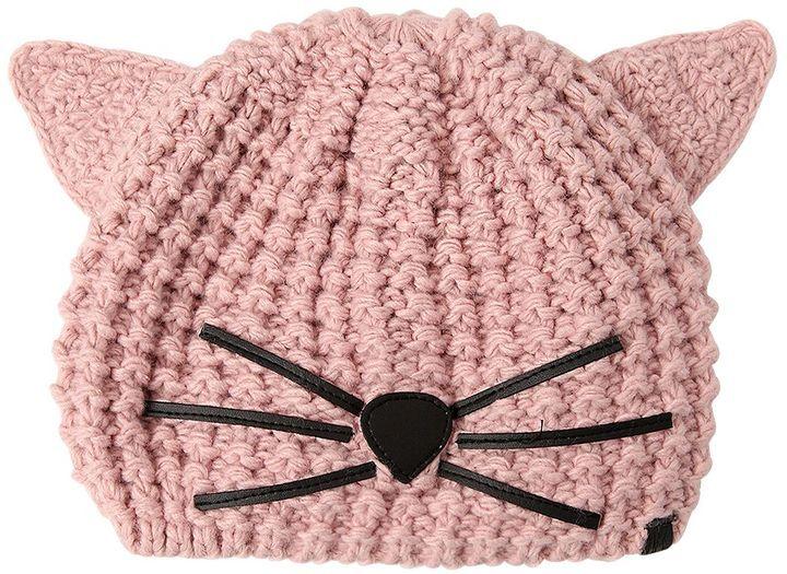 Karl Lagerfeld Choupette Knit Beanie Hat