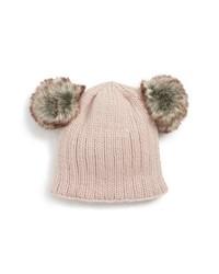 Nirvanna Designs Double Pom Knit Beanie