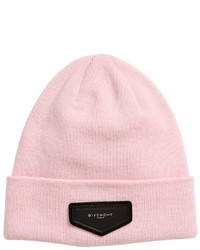 Givenchy Knit Beanie Hat With Logo Detail