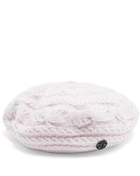 Maison Michel Tal Cable Knit Wool And Cashmere Blend Beret
