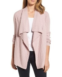 Mixed cotton knit cardigan medium 5170056