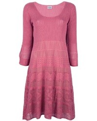 Philosophy di Alberta Ferretti Long Sleeve Knit Dress