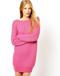 Asos Zip Back Sweater Dress   Where to buy & how to wear