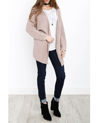 Sadie sage knit open cardigan medium 6754961