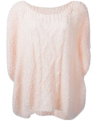 Mes demoiselles flow cable knit sweater medium 355502