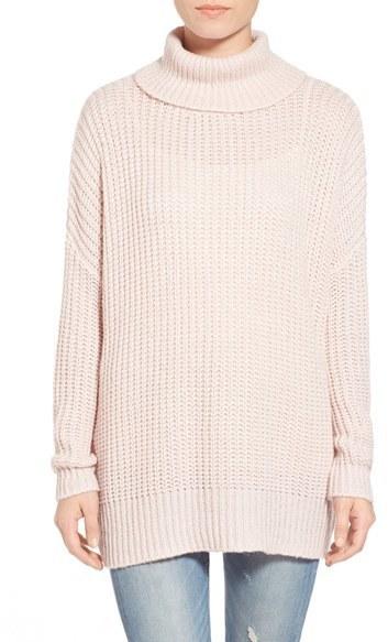 189ccf512 Leith Oversize Turtleneck Sweater