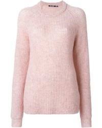 Ribbed crew neck sweater medium 355513