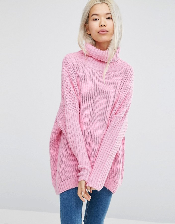 2d1f4d393c98 Weekday Turtleneck Fluffy Knit Sweater   Where to buy   how to wear