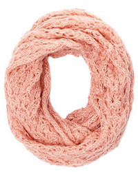Charlotte Russe Open Knit Infinity Scarf