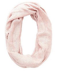 Charlotte Russe Shimmer Knit Infinity Scarf