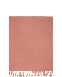 Sies Marjan Pink And Burgundy Amo Edition Pastoral Scarf