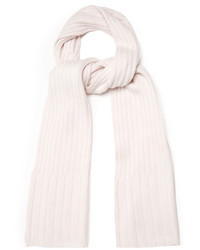 Ribbed knit cashmere scarf medium 3769557