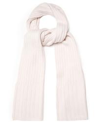 Bottega Veneta Ribbed Knit Cashmere Scarf