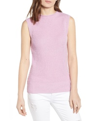 CODEXMODE Funnel Neck Sleeveless Sweater