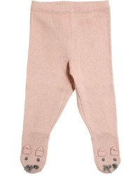 Stella McCartney Mouse Face Cotton Cashmere Knit Tights