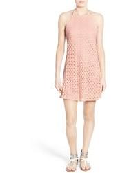 Mimichica Mimi Chica Lace Halter Dress